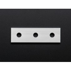 Coupling Plate - 3 Holes - 20x20 Aluminum Extrusion