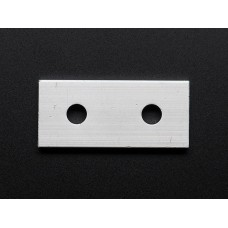 Coupling Plate - 2 Holes - 20x20 Aluminum Extrusion