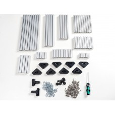 OpenBeam Advanced Precut Kit - Silver Aluminum