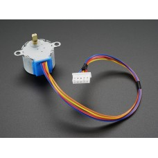 Small Reduction Stepper Motor - 12VDC 32-Step 1/16 Gearing