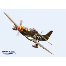 Durafly 'Old Crow' P-51D Mustang w/Flaps/Retracts/Lights 1100mm (PNF)