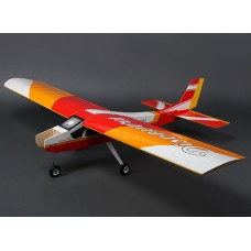Discovery (Red) Balsa Hi-Wing Trainer GP/EP 1620mm (ARF)