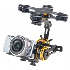 3 Axis Brushless Gimbal (Sony Nex size camera)