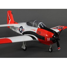 Durafly T-28 Trojan w/flaps/retracts/lights/gear doors 1100mm (PNF)