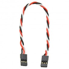 "Twisted Servo Extension Cable 6"" Female - Female"