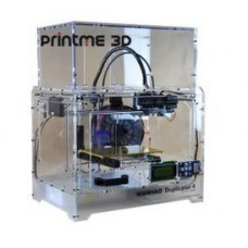Wanhao Duplicator 4X in Transparent Casing - Dual Extruder 3D Printer - PrintME 3D