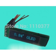 0.84 inch 14PIN Blue OLED Display Module SSD1306 Drive IC 96*16 I2C Interface