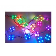 36MM SQUARE 12V DIGITAL RGB LED PIXELS (STRAND OF 20) - WS2801