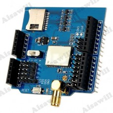 GlobalSat GPS Development Expansion Board with Micro SD Card Slot for Arduino - Blue + Black