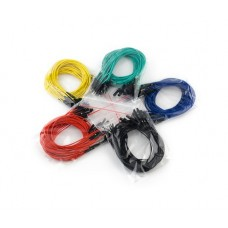 "JUMPER WIRES PREMIUM 12"" M/F PACK OF 100"