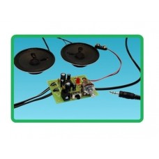 DELUXE STEREO AUDIO AMPLIFIER PROJECT KIT - IPOD VERSION