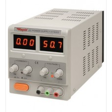 RAPID 50V DUAL LED METER PSU