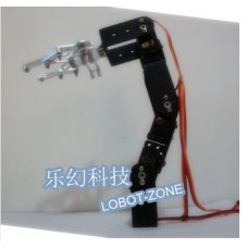 4 mechanical arm car ultra long steering gear mount robotic arm