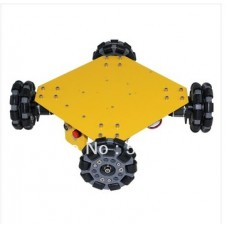 4WD Omni Wheel Arduino Compatible Mobile Robotics car 10008
