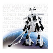 Iblock diy puzzle toy 2150rb robot series