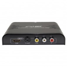 AV Composite / S-Video to HDMI converter- Supports 1080p Full HD - by Neet - Lifetime Warranty